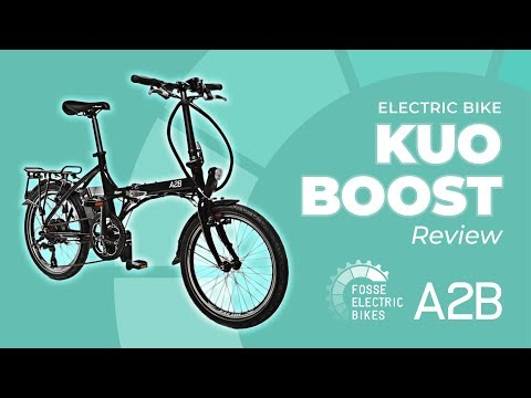 Illegal on UK Roads Electric Folding Bike - Kuo Boost Review