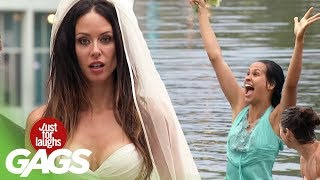 Bride Pranks | Best of Just for Laughs Gags