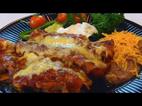 Betty's Shredded Beef Enchiladas - Smashpipe Style