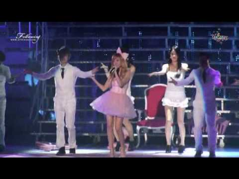 SNSD Jessica Singing I'm A Barbie Girl HD