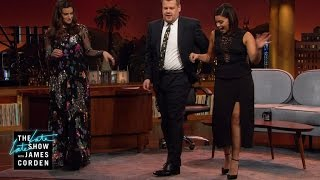 Gina Rodriguez Gives a Salsa Lesson