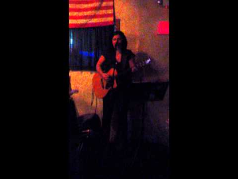 "Performing a cover of ""What's Up"" by 4 Non Blondes. I perform cover shows when not teaching."