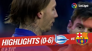 Resumen de Deportivo Alavés vs FC Barcelona (0-6)