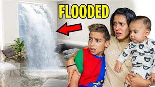 OUR HOUSE is FLOODED!! (DEVASTATING) | The Royalty Family