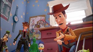 Kingdom Hearts III – Trailer di Toy Story