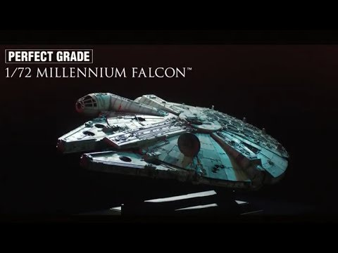 Revell Bandai 1:72 Perfect Grade Millennium Falcon Star Wars Kit