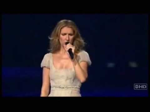 Celine Dion - I Can't Help Falling In Love With You (Live Acapella in Las Vegas -