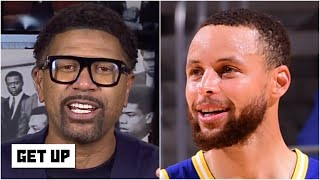 Jalen Rose reacts to Steph Curry leading the Warriors to a win over the Jazz | Get Up