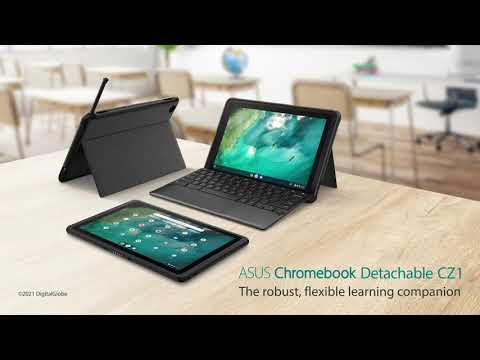 The robust, flexible learning companion for students -ASUS Chromebook Detachable CZ1
