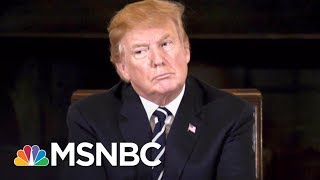 Camera Captures President Donald Trump's Notes During Gun Control Meeting | The 11th Hour | MSNBC