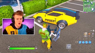 Surprising YOUTUBERS with their *OWN* Car in Fortnite!
