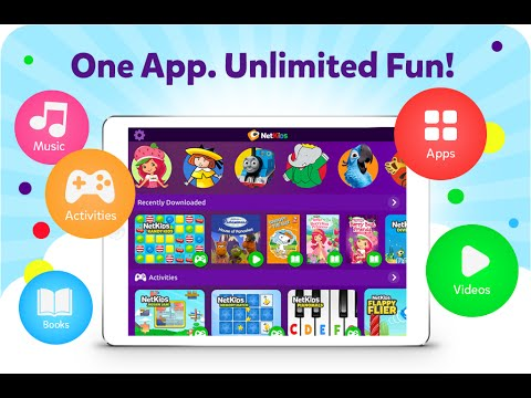 NetKids: All-in-One App for Kids Entertainment