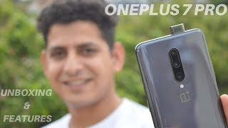Oneplus 7 Pro 8GB + 256GB Indian Retail Unit Unboxing & Features🔥🔥