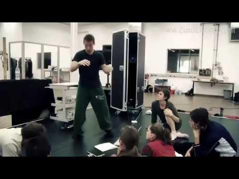 Choreograaf Joost Vrouenraets