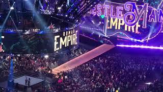 Wrestlemania 34 Roman Reigns Entrance (Fan Video)