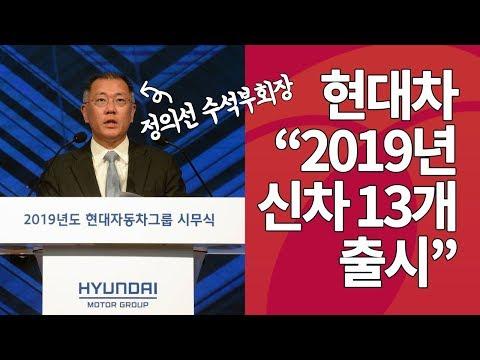 '시무식 데뷔'한 정의선 현대차그룹 부회장