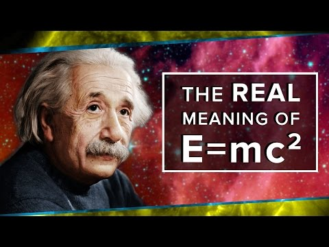 The Real Meaning of E=mc²   Space Time   PBS Digital Studios