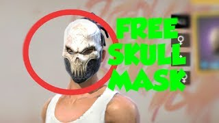 Free skull mask in free fire or new Holi event #SVJGaming