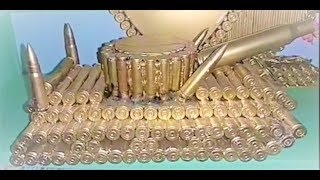 Chế tạo Xe Tăng bằng Vỏ Đạn cực đẹp ntn Tank Bullet