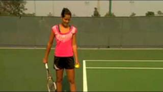 Serving Lessons From Ana Ivanovic