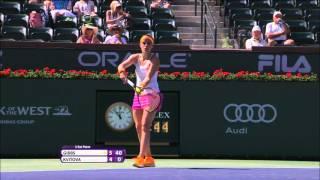 2016: Kvitova vs. Gibbs Highlights