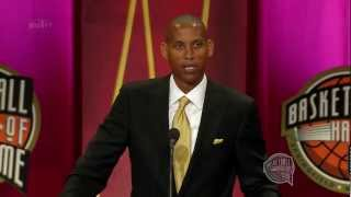 Reggie Miller's Basketball Hall of Fame Enshrinement Speech