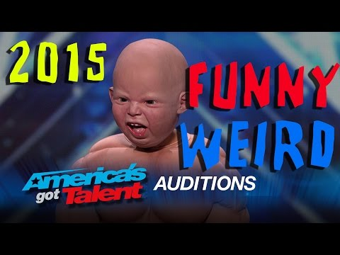 America's Got Talent 2015: Weird / Crazy / Funny / Bad Auditions
