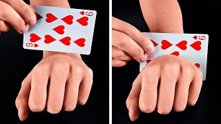 MAGIC TRICKS REVEALED    Funny Magic Tricks And DIY Illusions That You Can Do