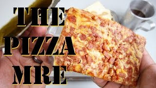THE PIZZA MRE, (PROTOTYPE), BUFFALO CHICKEN WINGS - MEAL READY TO EAT INDIVIDUAL (APRIL FOOLS)
