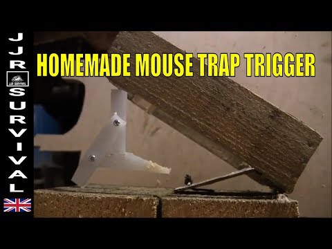 Homemade Mouse Trap With 1 Piece Trigger
