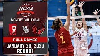 EAC vs. MU - January 20, 2020 | Full Game | 4th Set | NCAA 95 WV
