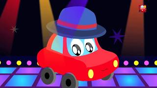 halloween đêm | Halloween Night | Little Red Car | trẻ em video | Scary Rhymes | Halloween Songs