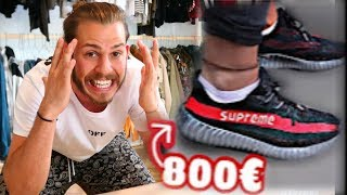 Die 800€ FAKE SUPREME YEEZY  **ich raste aus** 🤬