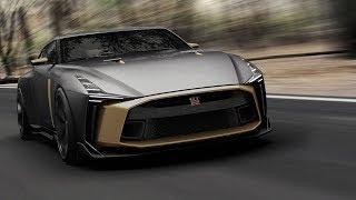 نيسان GT-R50 سيارة جديدة بتصميم ايطالي     -