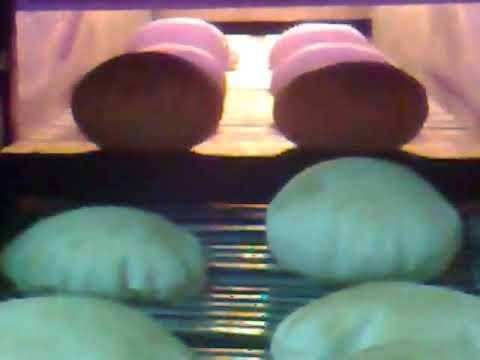 Pita Bread Tunnel Oven 2 Rows.wmv شركة بكري لمعدات المخابز - بكريكو - رشاد أحمد بكري