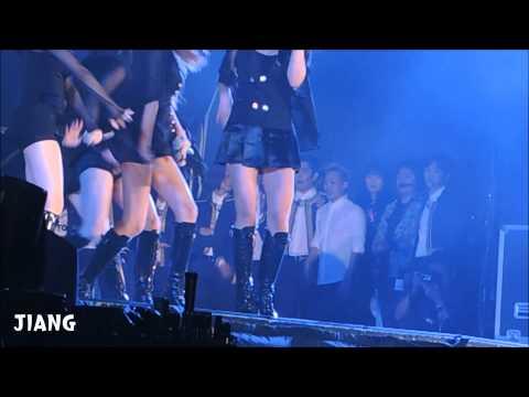 150321 SMT IN TAIWAN 少女時代Mr Mr+SJ後台在模仿少時跳舞