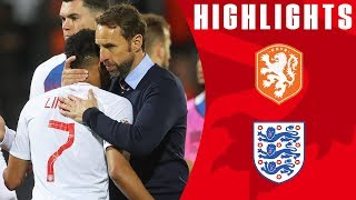Netherlands 3-1 England   Three Lions Undone by Two Late Goals   Official Highlights