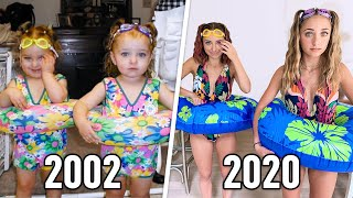 Recreating Our CHILDHOOD Fashion Outfits | Brooklyn & Bailey