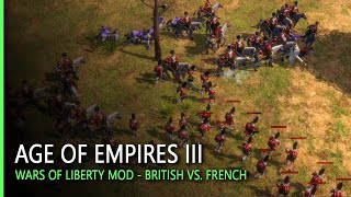 British vs. French   Age of Empires III: Wars of Liberty Mod