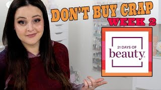 Ulta 21 Days of Beauty 3/24-3/30 - What to Buy & What NOT To Buy!