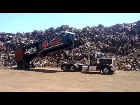 Alpha Recycling at scrap yard
