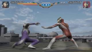 Sieu Nhan Game Play | chơi game ultraman fighting eluvation 3 | Ultraman Tiga