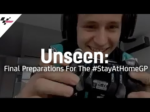 Unseen: Final preparations for the #StayAtHomeGP ?