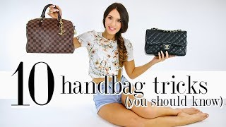 10 Handbag Tricks EVERY Girl Should Know! *life-changing*