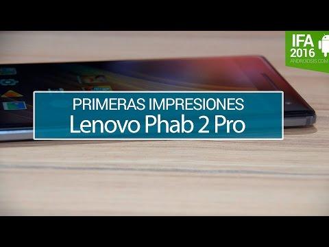Lenovo Phab 2 Pro, primeras impresiones
