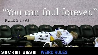 The loophole that lets NBA players rack up unlimited fouls in a game | Weird Rules