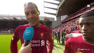 """""""I'm glad he's on my team!"""" Van Dijk hails Firmino's importance to Liverpool"""