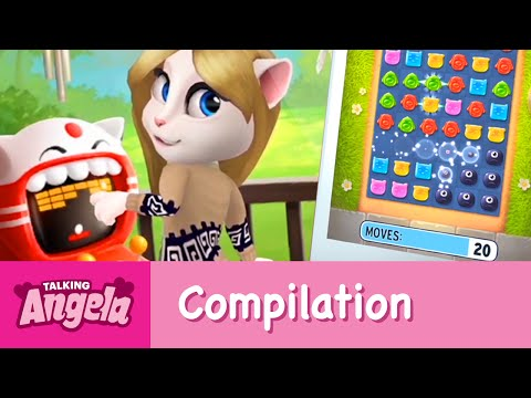 My Talking Angela - Gameplay Compilation