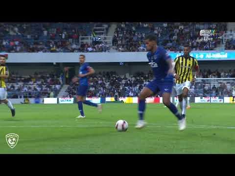 ملخص مباراة الهلال والاتحاد 2-1 - كأس السوبر السعودي 2018