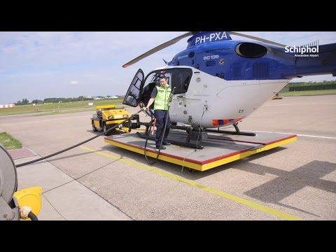 Kijkje bij technische dienst van de luchtvaartpolitie